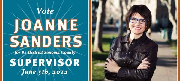 Joanne Sanders for Sonoma County Supervisor
